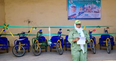 Abusite Corper Donates 12 WheelChairs to Physically Challenged Students 4