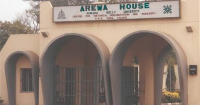 AREWA HOUSE: A Guide for Foreign researchers. 6