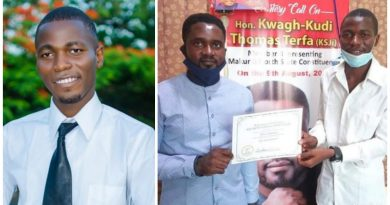 Legislator Honors Idris Hassan, ABU Student who won Int'l Essay Competition. 5