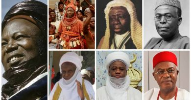 The 7 Iconic Nigerians who have served as Chancellors of ABU Zaria from 1962 - date 6