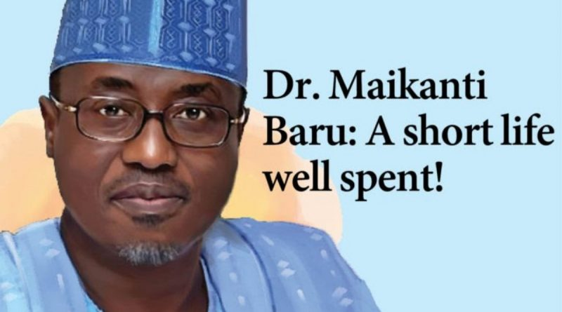 Dr. Maikanti Baru: A short life well spent! 2