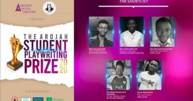 Two ABU Students, 3 others Shortlisted for Arojah Student's Playwriting Prize 2020 4
