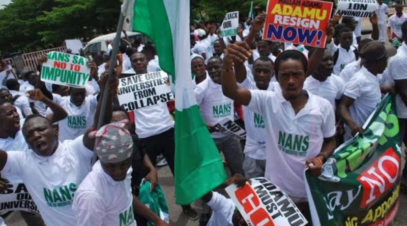 Students to embark on Nationwide Protest Against Closure of Campuses Tomorrow 19th August 6