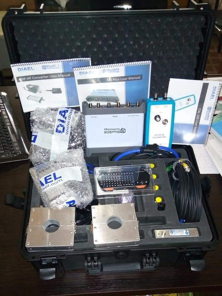 Partial Discharge measurement equipment from Spain