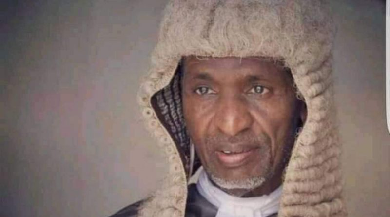 Justice Adamu Aliyu: The 2nd Chief Judge of Taraba State 10