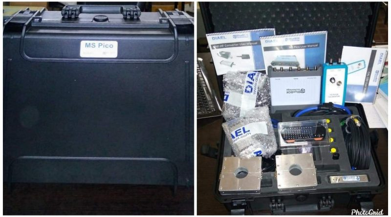 ABU receives Partial Discharge measurement equipment from Spain 1