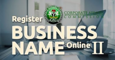 How to Register a Business Name in Nigeria: A Step-by-Step Guide