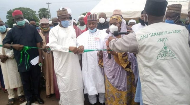 ABU to name roads after 2 Prominent Alumni as SGF inaugurates projects 5