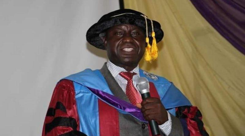 Meet Prof Reuben Kolo: The New Vice-Chancellor, Crawford University 1