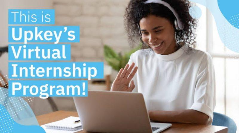 Opportunity: Apply for the free Upkey's Virtual Internship Program! 9
