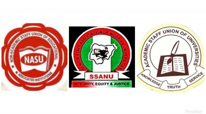 SSANU, NASU begin full strike Monday as ASUU continues industrial action. 1
